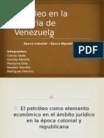 Petróleo en La Historia de Venezuela
