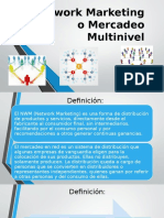 Network Marketing o Mercadeo Multinivel.pptx