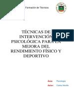 PSC 7.Técnicas Psicologicas