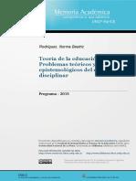 0. Programa 2015 Teoría de la Educación Fisica