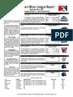 5.4.16 Minor League Report