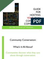 Community Coffee Shop Guide - Print Friendly