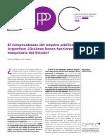 El Rompecabezas Del Empleo Público en Argentina ¿Quiénes Hacen Funcionar La Maquinaria Del Estado?