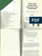 ROZANSKI C. (2005) Obstáculos Institucionales