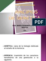 CLASE TEÓRICA GENETICA DRA. GARCÍA BUSTOS