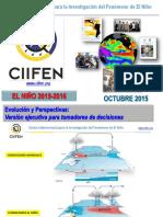 Ciifen Enos Diagnstico Octubre-2015