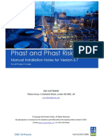 Phast and Phast Risk Manual Installation Notes