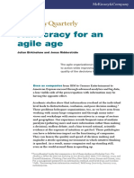 Adhocracy for an Agile Age
