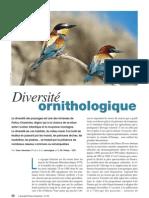 Diversité ornithologique