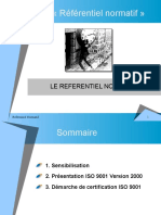 Étude Du Référentiel ISO 9001 (MLI3)
