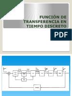 Función de Transferencia en Tiempo Discreto