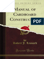 Manual of Cardboard Construction 1000816662