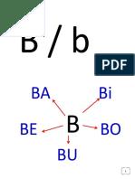 Trabajando con la B