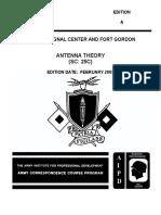 Us Army Cc Ss0131 Antenna Theory