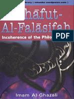TahafutAl FalasifahtheIncoherenceOfPhilosophers ImamAl Ghazali Text