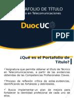 Portafolio Técnico en Telecomunicaciones-Alumnos