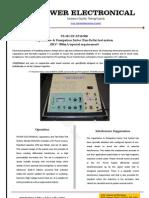 Tan-Delta and Capacitance test set for HT Generator/Motor testing