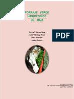 Forraje Verde Hodroponico de Maiz