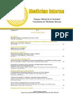 Revista Sociedad Venezolana de Medicina Interna V31-4