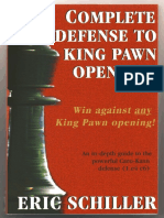 (Chess) (Eric Schiller)-Complete Defense to King Pawn Openings - The Caro-kann Defense (Excerpt)