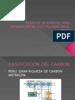 Fuentes de Energia Para Generacion de Electricidad En