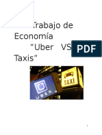 Uber vs taxistas