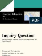 bosnian education