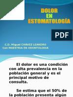 Dolor en Estomatología