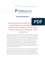 Anesthesia Monitoring Devices Market by Product