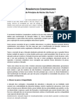 Rede RC - Carta de Principios do núcleo SP