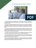 03.05.16 Plantea Oscar Almaraz Servicios Públicos de Calidad