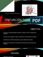 Disfunción Tiroidea