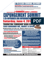 Cook County Second Chance Expungement Summit 2016