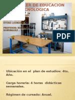 Aula-taller de Educacion Tecnologica