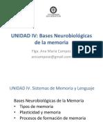 Bases Neurobiológicas de La Memoria