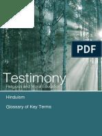 Testimony Hinduism Glossary Tcm4-729940