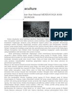 Project's Aquaculture_ Menghindari Kematian Ikan Massal MEREKAYASA IKAN YANG RAMAH LINGKUNGAN