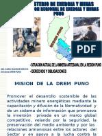Situación Actual de La Mineria Artesanal