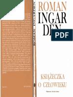 HF-Ingarden R.-książeczka o Człowieku