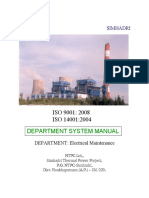 101 EMD Departmental ISO Manual 2013-14 Final
