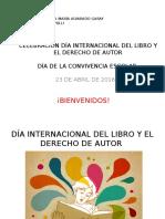 Día Internacional Del Libro y El Derecho De