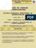 CG - Unidad III - Tema II - Interpretación Del Análisis de Los Estados Financieros