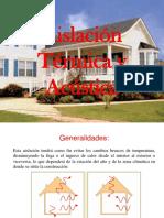 Aislacion termica