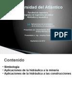 Aplicaciones de La Hidraulica a La Mineria y Construccion