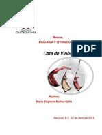 Fichas de Cata Para Internet