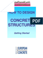 How to Design Concrete Structures