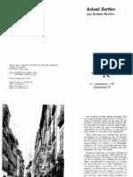100700516 Roland Barthes Por Roland Barthes Espanol PDF