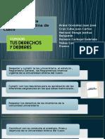 Obligaciones y Derechos de Los Estudiantes de La Universidad Andina