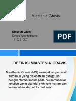 Miasthenia Gravis Ppt Dimas