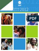 informe 2012 Sin Fronteras